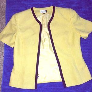 Kasper Short Sleeve Blazer Size 10